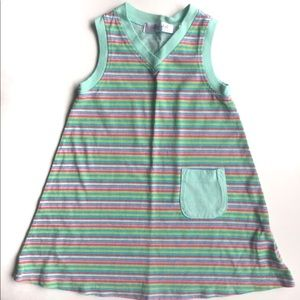 NEW Fresh Produce V-neck Tank Dress 100% Cotton